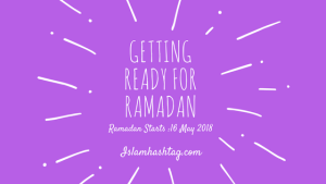 getting ready for ramadan