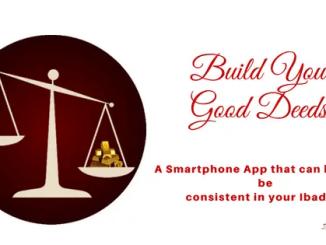 build your good deeds