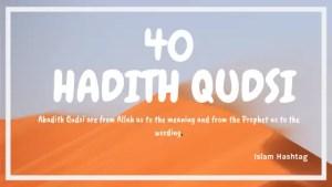 hadith Qudsi