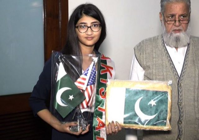 13 years Old Raadeyah Aamir named as youngest Muslim to get into NASA