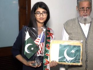 13 year muslim girl in NASA