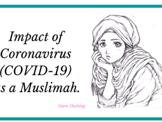 Impact of Coronavirus on me as muslim