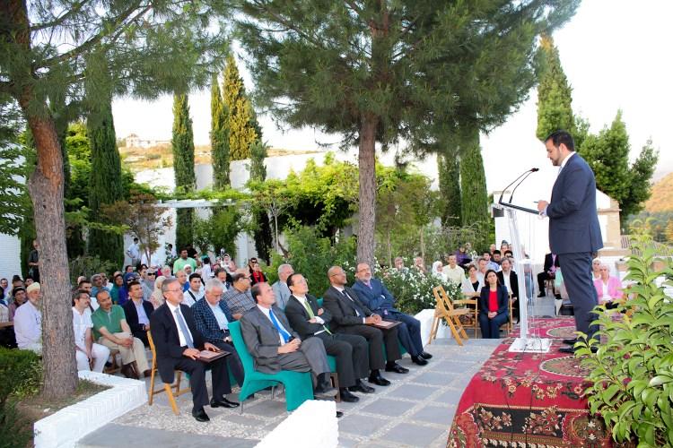 Foto de la celebración del décimo aniversario de la Mezquita Mayor de Granada