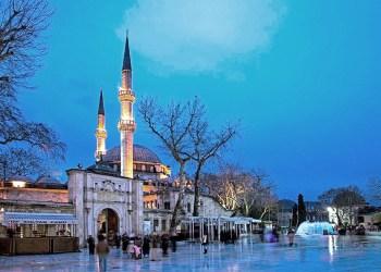 Mezquita de Eyüp Sultan, en Estambul.