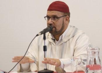 Muhammad al Yaadi, en una conferencia en Granada el pasado julio