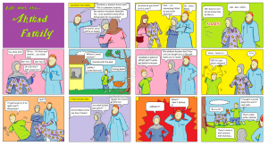 Life with the Ahmad Family Comics - The Eid ul Adha Gift