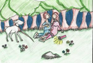 The Lost Goat, by Yusra Kazmi, Age 9
