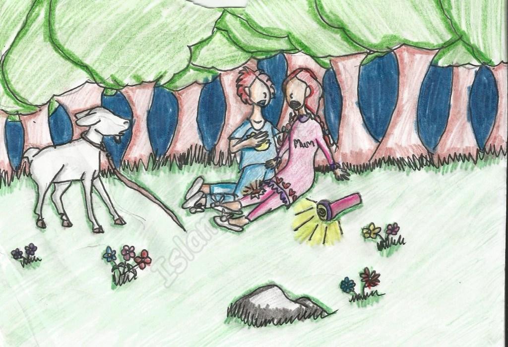 The Lost Goat, by Yusra Kazmi, Age 9