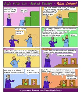 Another of Abu Jamal's tricks on this funny Islamic Comic