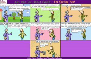 I'm Fasting Too! - Life with the Ahmad Family Comics (Islamic Comics)