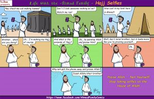 Hajj Selfies - Ahmad Family Comic