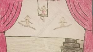 Ballerinas by Hana Abdus Samad - Illustrations by Muslim Kids