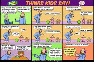 The Things Kids Say - Ahmad Family Islamic Comic