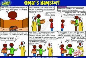 Omar's Hamster - Ahmad Family Islamic Comics