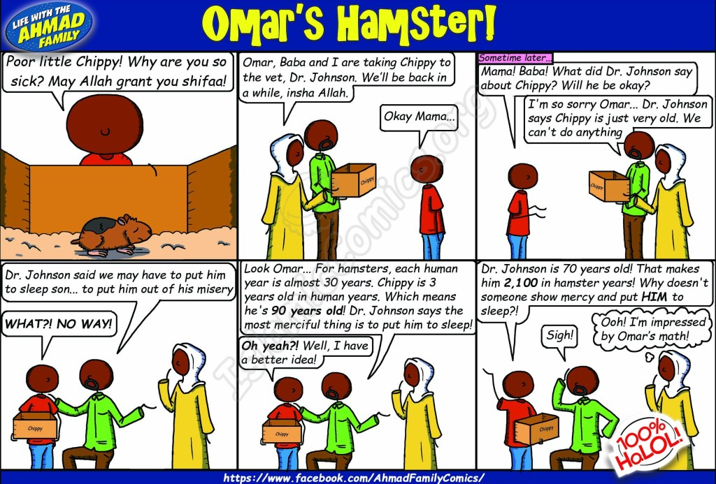 Omar's Hamster - Life with the Ahmad Family Comic
