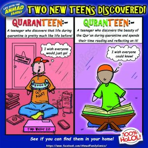 QuranTeens and Quaranteens - Ahmad Family Comics