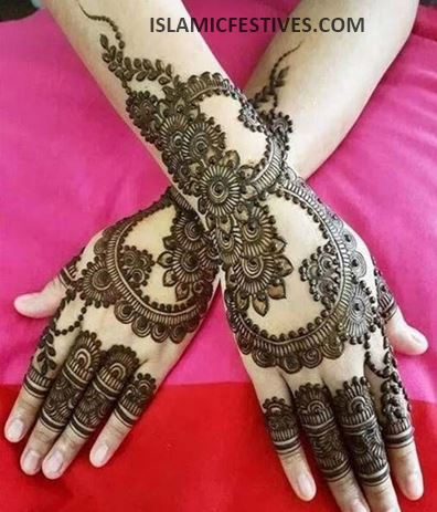 33 Best Simple Arabic Mehndi Designs For Back Hands For
