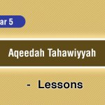 Aqeedah Tahawiyyah – Year 5