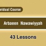 Arbaeen  Nawawiyyah – Individual
