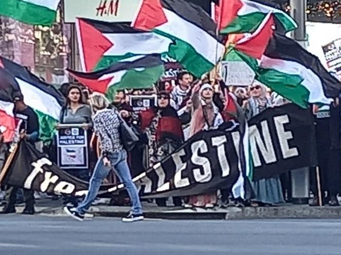 Auckland Jihadi march against Israel