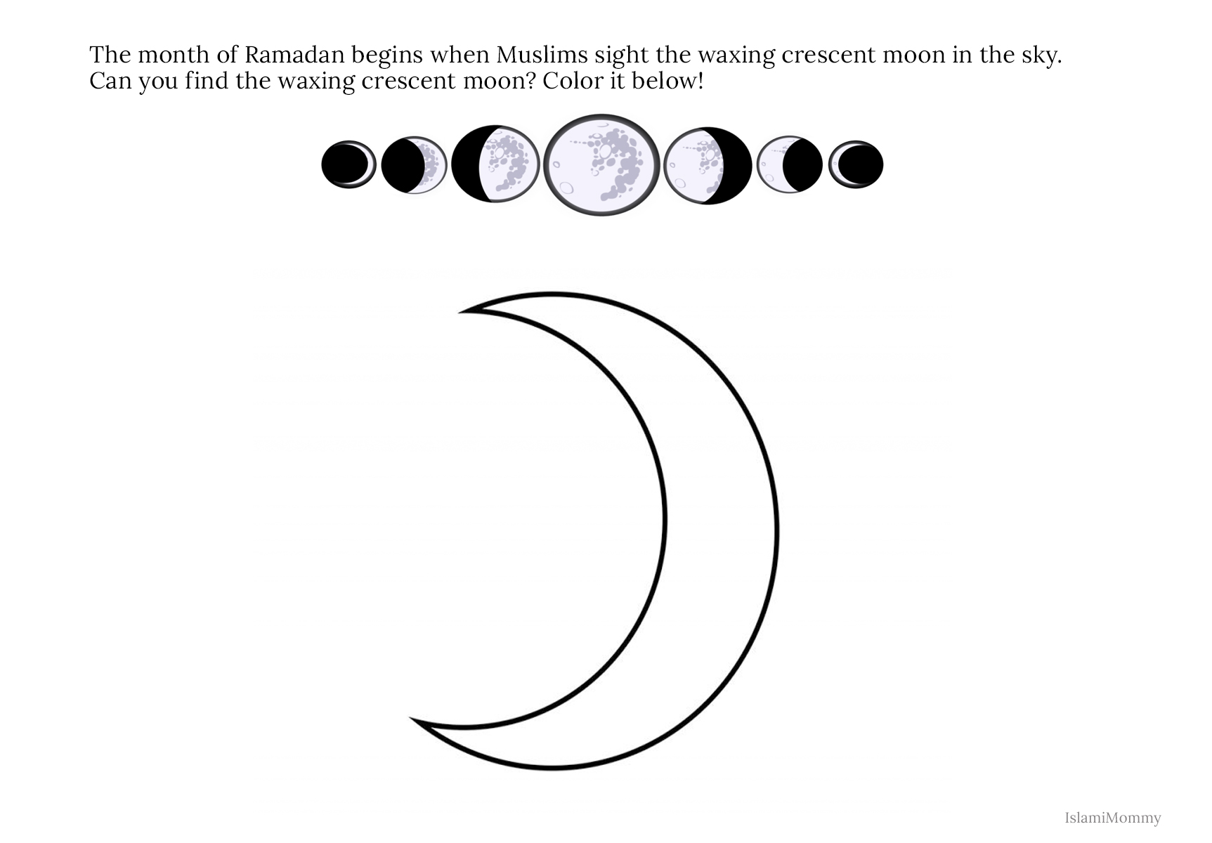 A Guide To Sharing Ramadan With A Prek K Classroom