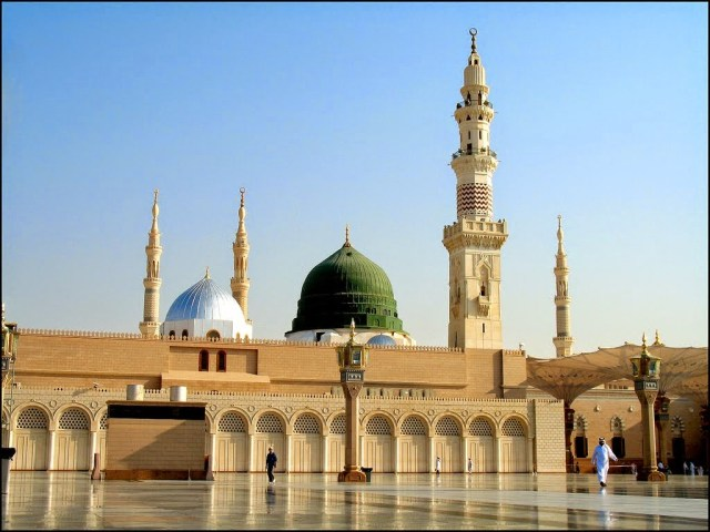 مسجد النبوي مدينه المنوره كا دسترخوان اور ايک دسترخوان كا ايك واقعه