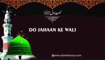 Do jahaan ke Wali (Salla'llahu Alayhi Wa'Sallam)ka do jahaan pe saya hai