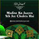 Madine Ko Jaayen Yeh Jee Chahta Hai
