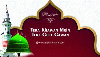 Tera Khawan Mein Tere Geet Gawan Ya Rasool Allah