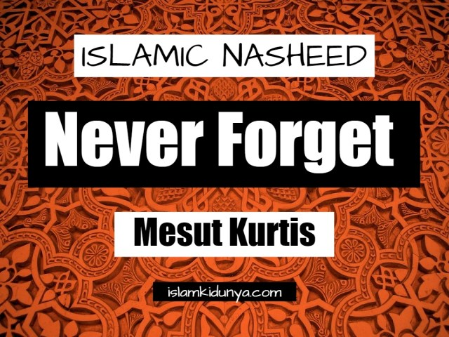 Never Forget - Mesut Kurtis (Lyrics)
