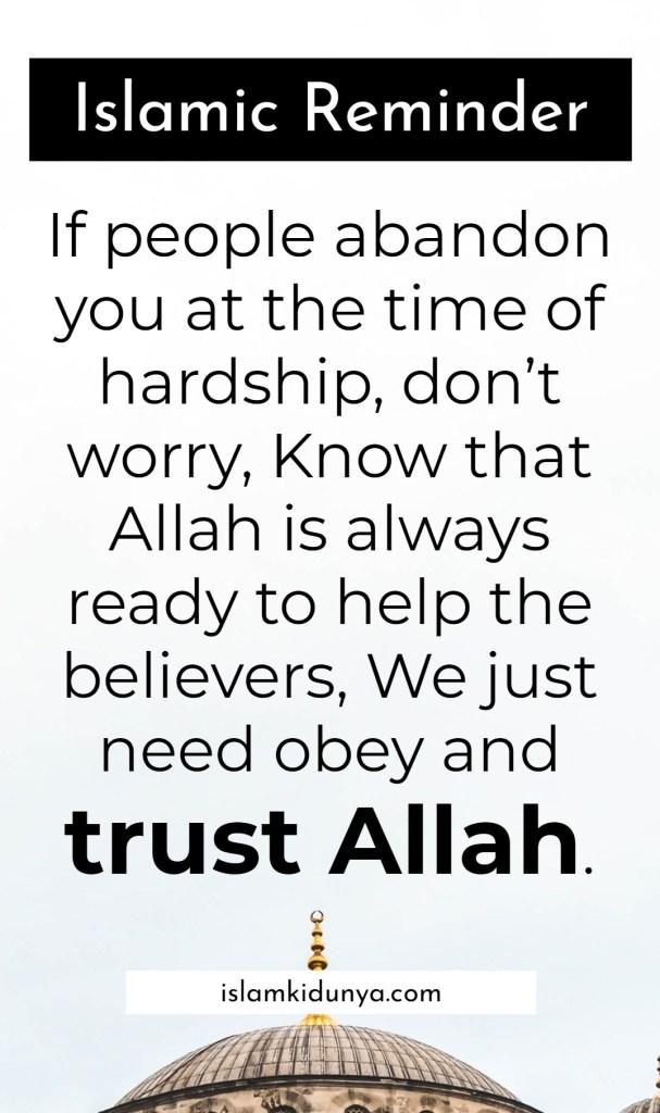 Short Islamic Reminder Quotes