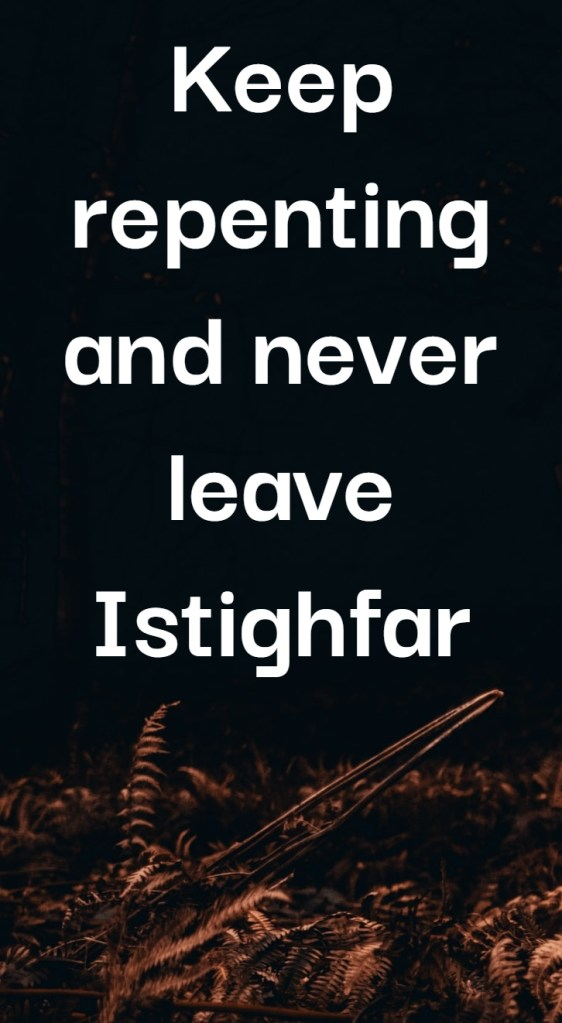 Istighfar Quotes | Islamic Quotes in English about Istighfar