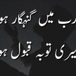 یا رب میں گنہگار ہوں میری توبہ قبول ہو – Meri Tauba Qabool Ho