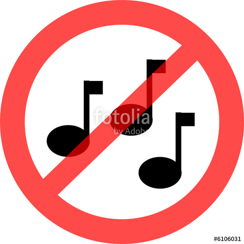 Musikverbot