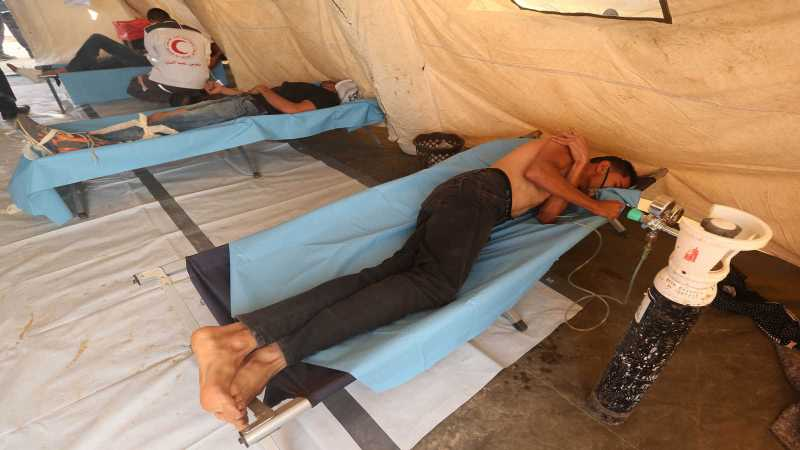 Hamas calls for dismantling American field hospital for failing to provide needed services