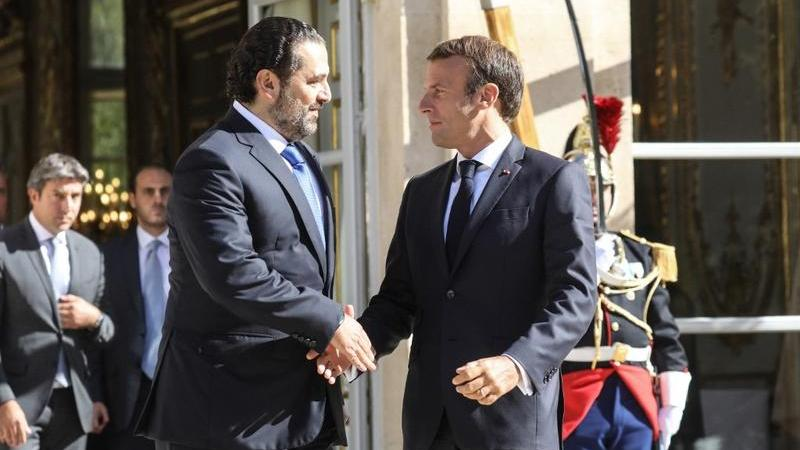 Lebanon's Hariri and France's Macron discuss Lebanese crisis, formation of government