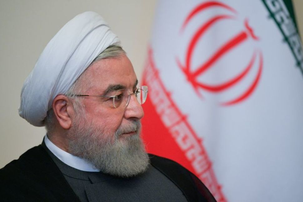 Iran's Rouhani Says 60% Enrichment Is an Answer to Attack at Natanz Site