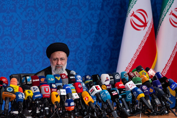 Iran's new president takes a hard line on negotiations
