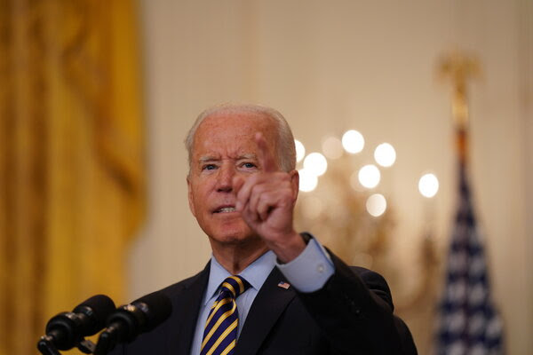 Biden says staying in Afghanistan doesn't make sense