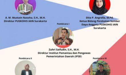 Webinar Nasional: PUSKOHIS dan Pilkada Damai
