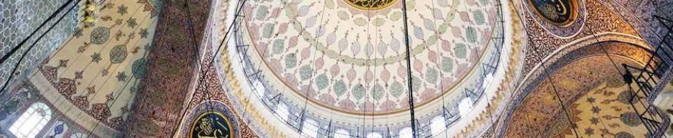 arabesque toit mosquee turquie