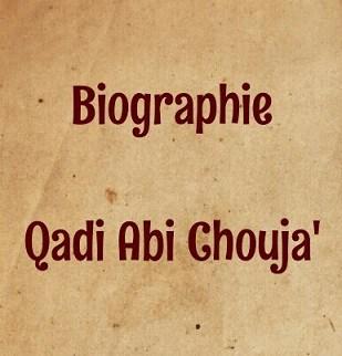 Biographie abi chouja'