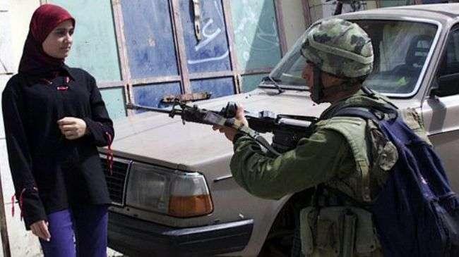 Image result for idf soldier points gun