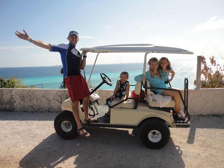Perfect Rental Vehicle for Leisurely Travel Golf Cart