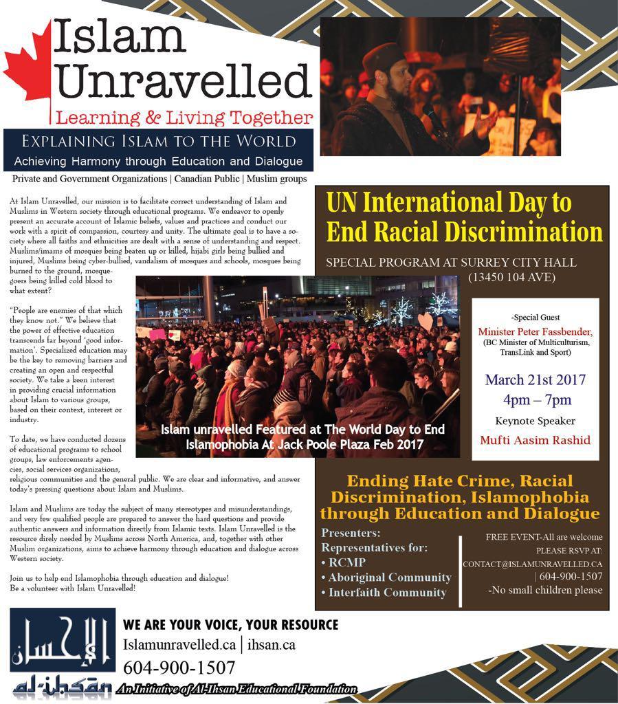 UN Day to End Racial Discrimination