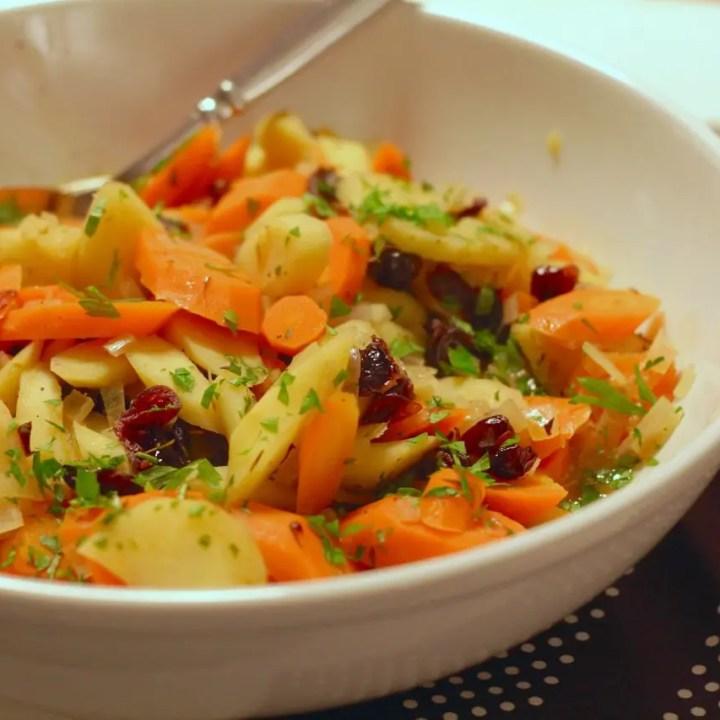 Braised Root Vegetables