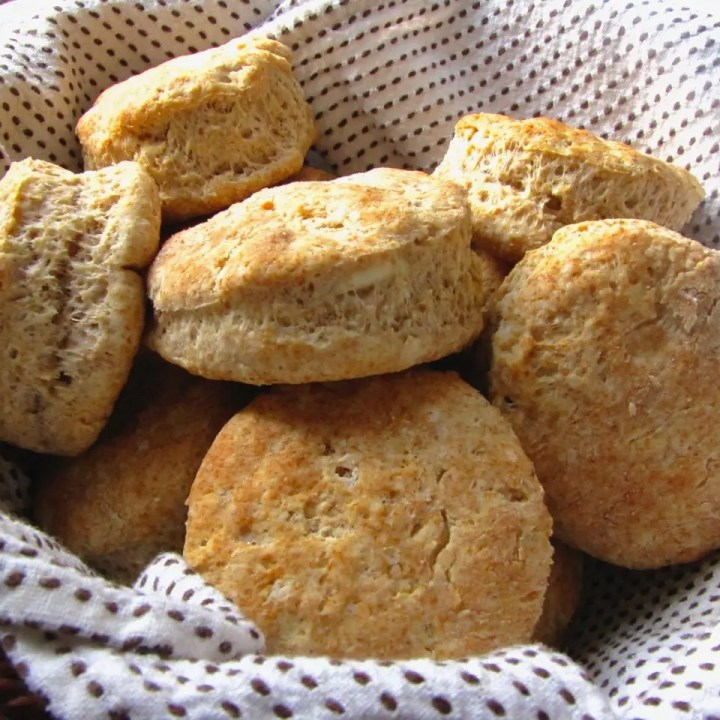 Whole-Wheat Buttermilk Biscuits