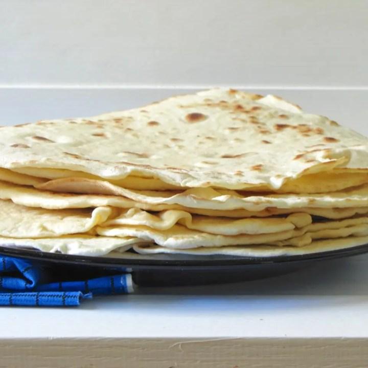 DIY Flour Tortillas
