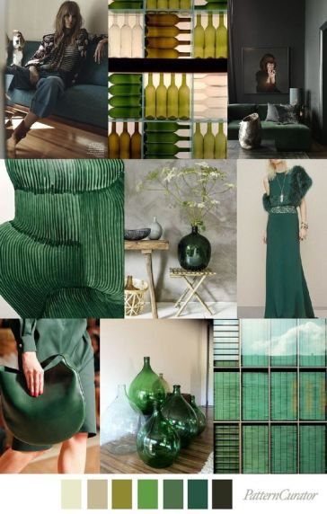 green color trend 2018