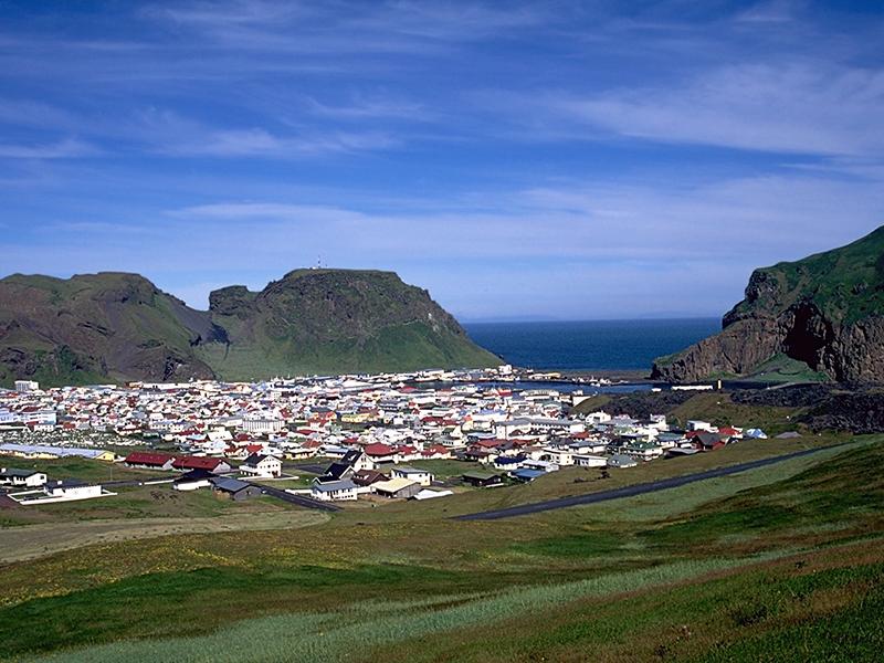 from Reykjavik to Vestmannaeyjar